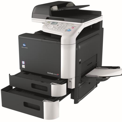 Konica-Minolta-Bizhub-C3110-open-paper-trays-bypass