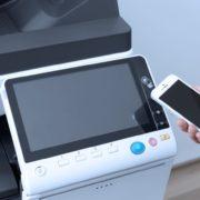 Konica Minolta Bizhub C368 Panel Front Smartphone Control Authentication Price Offers