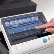 Konica Minolta Bizhub C368 Panel Front Touch Control Price Offers