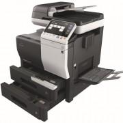 Konica Minolta Bizhub C3850 open paper trays bypass
