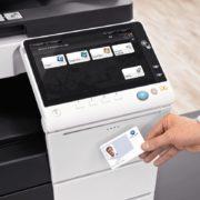 onica Minolta Bizhub C227 Office Security Card Authentication