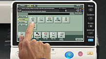 Bizhub C224 Training Scanning and Faxing