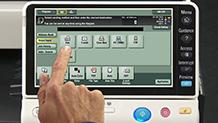 Bizhub C364 Training Scanning and Faxing