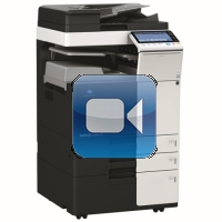 Konica Minolta Bizhub C364e Video Training