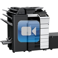 Konica Minolta Bizhub C658 Video Training
