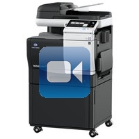 Konica Minolta Bizhub C3351 Video Training