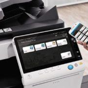 Konica Minolta Bizhub C558 Office Mobile Control