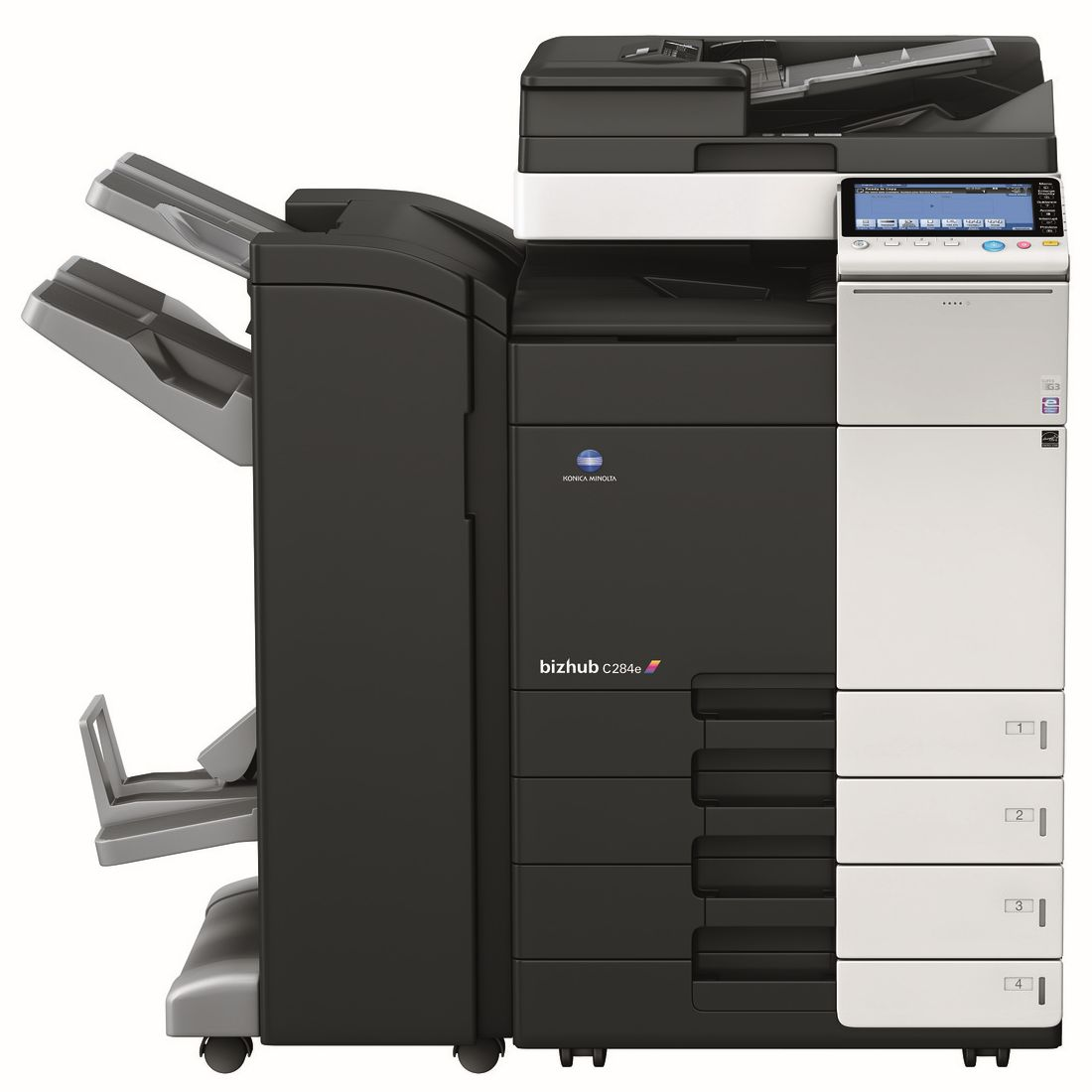 Get Free Konica Minolta Bizhub C284e Pay For Copies Only