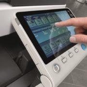 Konica Minolta Bizhub C454e Panel Side Touch Control Price Offers