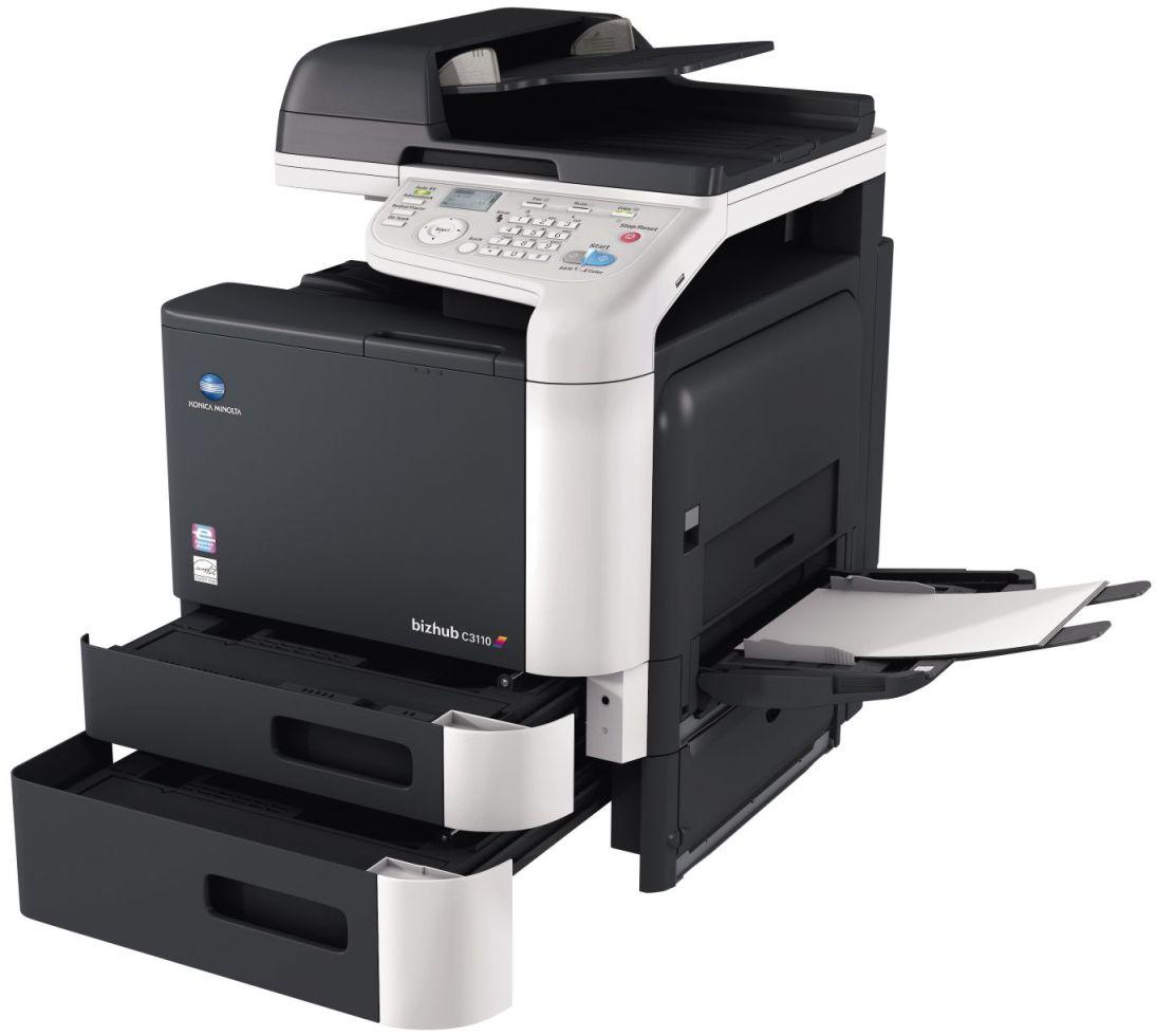 Konica Minolta Bizhub C3110 Open Paper Trays Bypass Price Offers