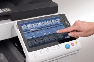 Konica Minolta Bizhub C308 Panel Front Touch Control Price Offers
