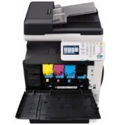 Konica Minolta Bizhub C35 Front View Open Price Offers