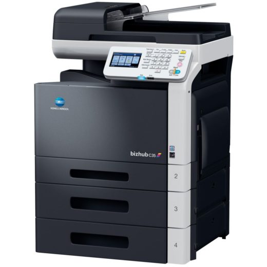 Konica Minolta Bizhub C35 Right View Price Offers