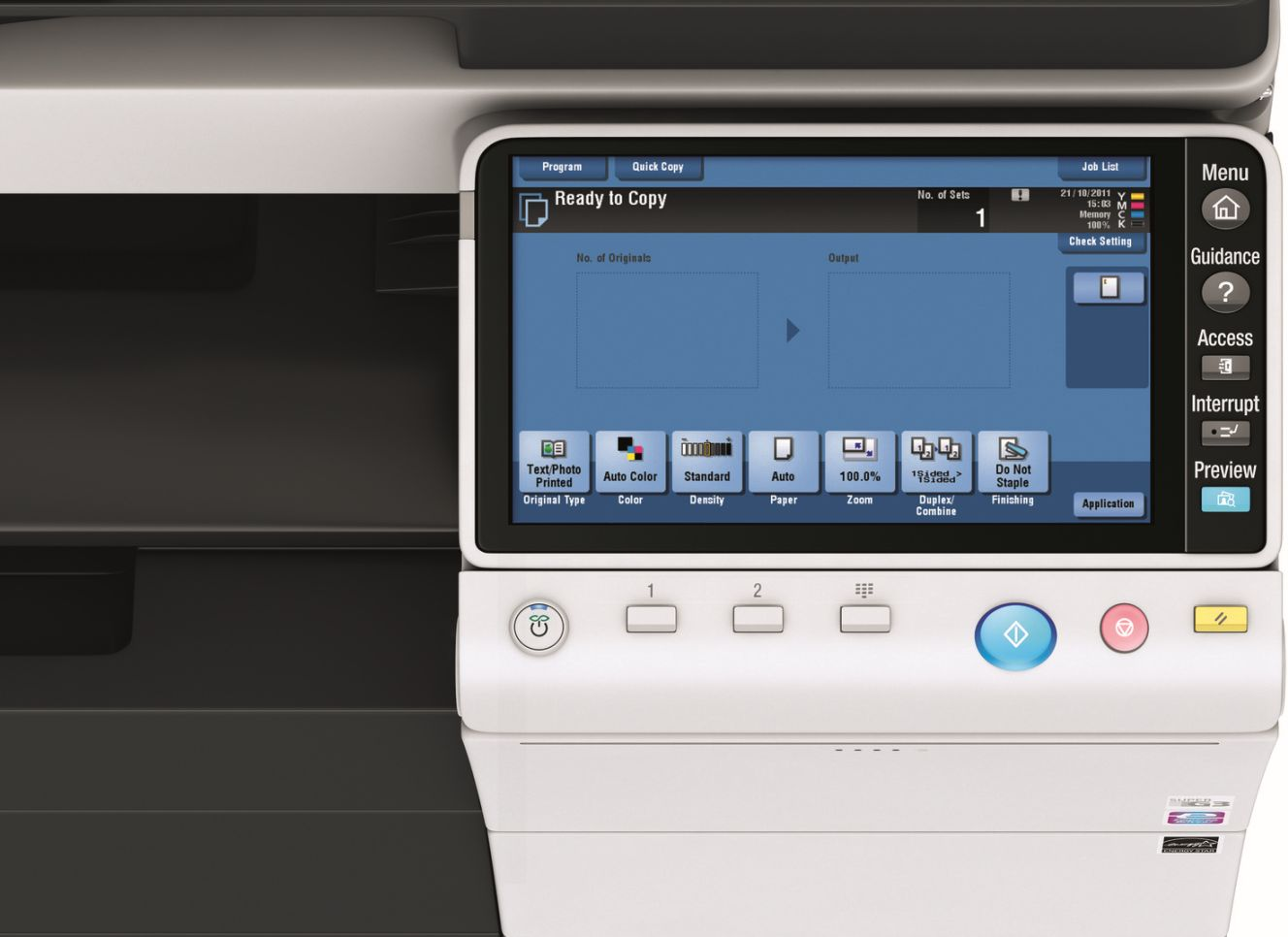 Get Free Konica Minolta Bizhub C364 Pay For Copies Only