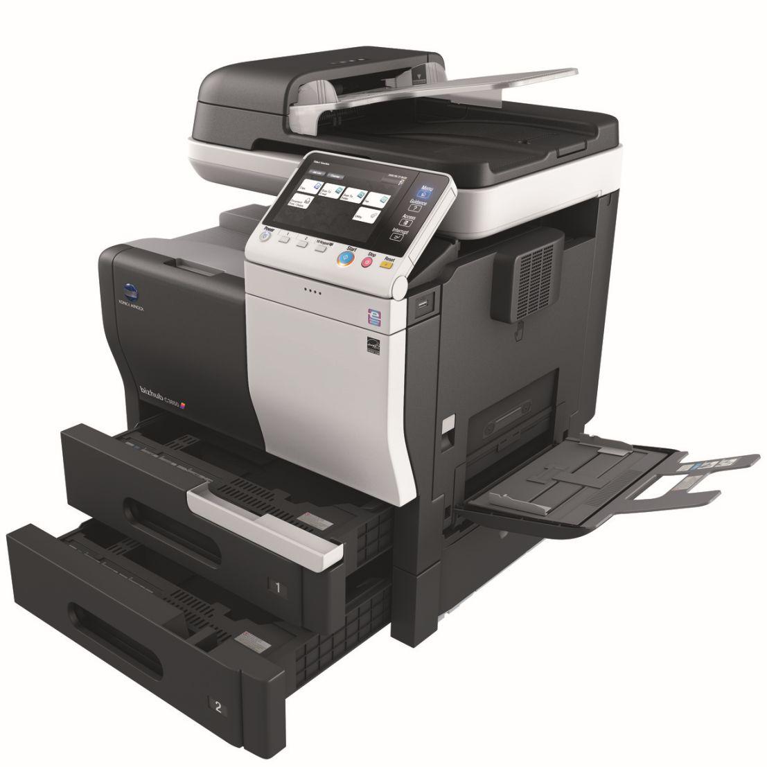 Konica Minolta Bizhub C3850 Open Paper Trays Bypass Price Offers