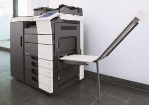 Konica Minolta Bizhub C654 Office Finisher Banners Printing Price Offers