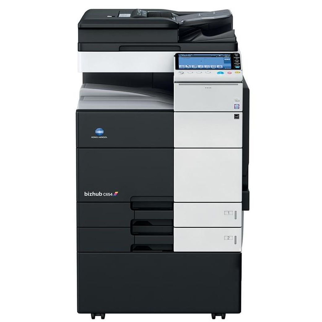 Get Free Konica Minolta Bizhub C654 Pay For Copies Only