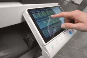 Konica Minolta Bizhub C754 Panel Side Touch Control Price Offers