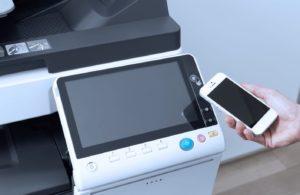 Konica Minolta Bizhub C258 Panel Front Smartphone Control Authentication Price Offers