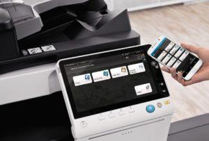 Konica Minolta Bizhub C458 Office Mobile Control