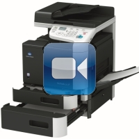 Konica Minolta Bizhub C25 Video Training