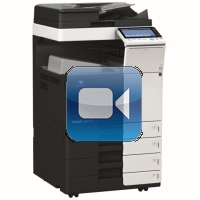 Konica Minolta Bizhub C284 Video Training