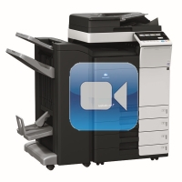 Konica Minolta Bizhub C308 Video Training