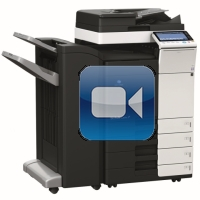 Konica Minolta Bizhub C364 Video Training