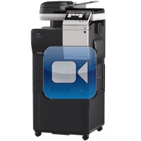 Konica Minolta Bizhub C3850 Video Training