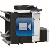 Konica Minolta Bizhub C554 Video Training