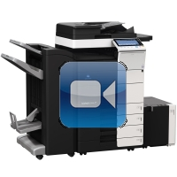 Konica Minolta Bizhub C554e Video Training