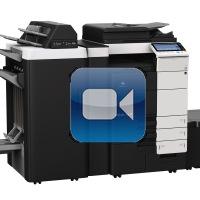 Konica Minolta Bizhub C754e Video Training