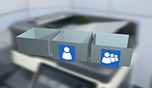 Bizhub C458 Training User Boxes