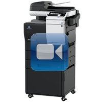 Konica Minolta Bizhub C3851 Video Training