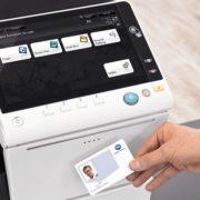 Konica Minolta Bizhub C658 Office Security Card Authentication