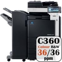 Free Konica Minolta Bizhub Price Offers C360 36 ppm