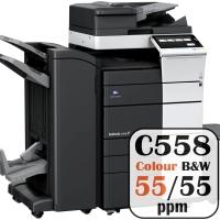 Free Konica Minolta Bizhub Price Offers C558 55 ppm