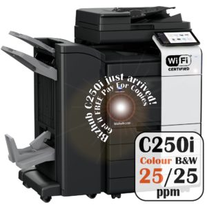 Konica Minolta Bizhub C250i DF-632 PC-216 FS-536SD Price Offers