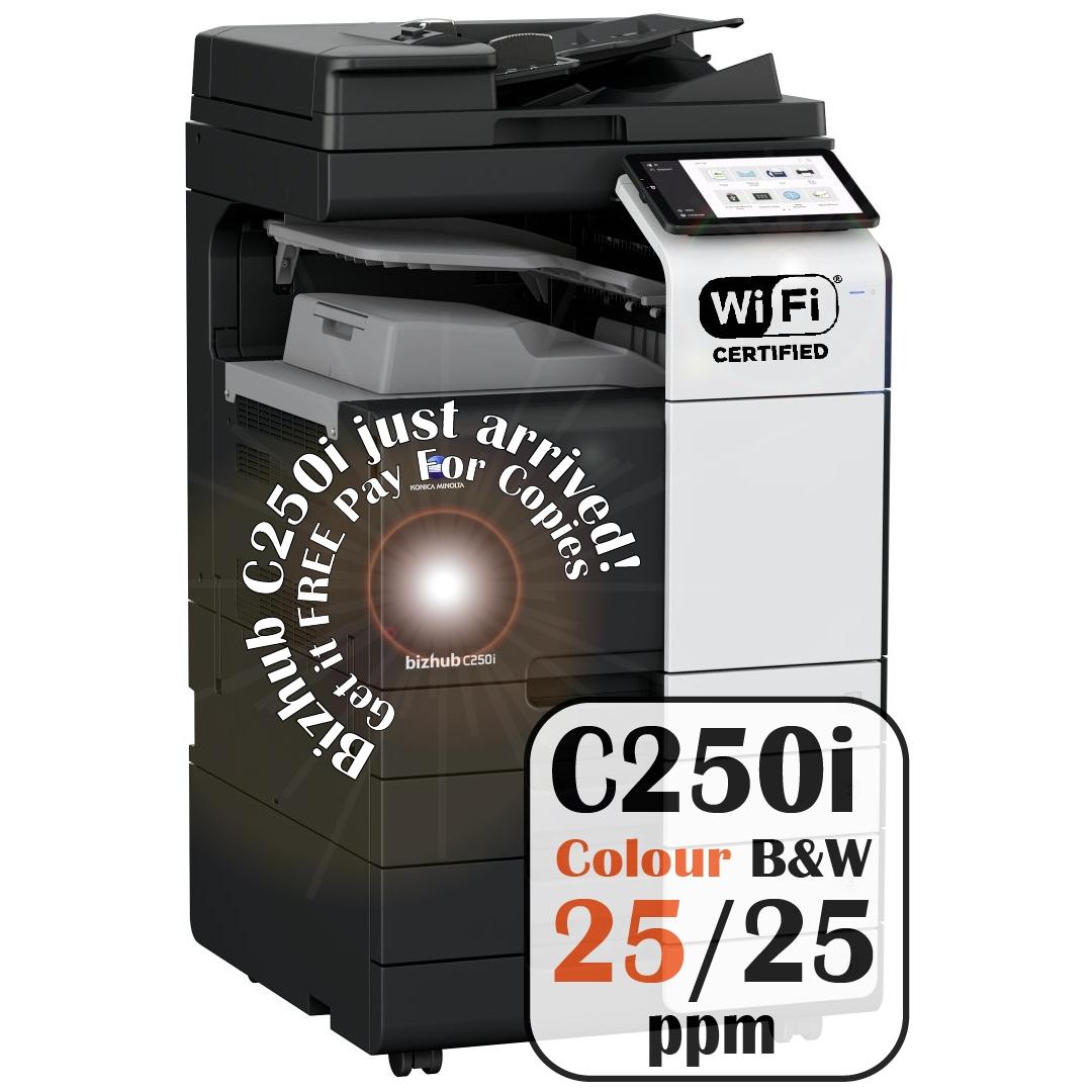 Konica Minolta Bizhub C250i DF-632 PC-216 JS-506 Price Offers